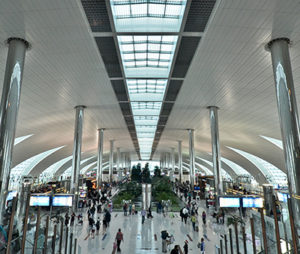 Concourse B, Dubai International Airport