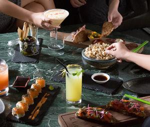 Food and drinks at Kilo Lounge