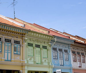 Colorful shophouses in Joo Chiat