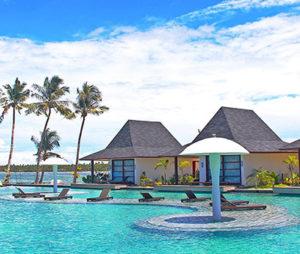 The pool at Siargao Bleu Resort & Spa