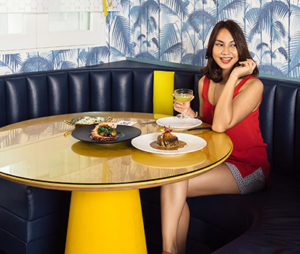 Dining at BOCA, Singapore