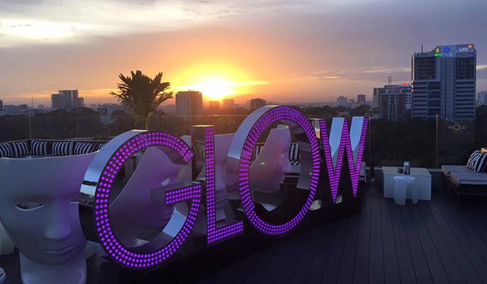 Glow Skybar, Ho Chi Minh City
