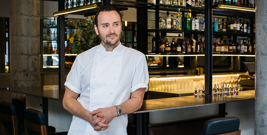 Michelin-starred chef Jason Atherton
