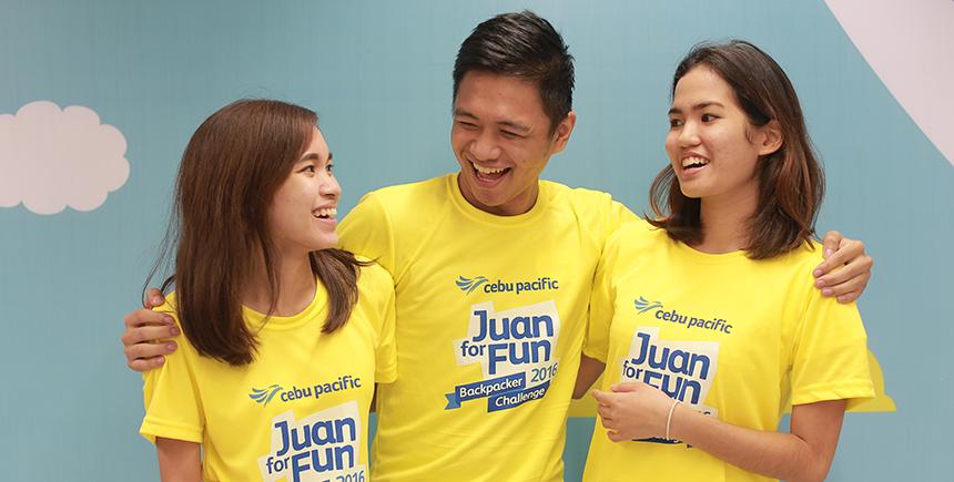 Members of #JFFTeamTAG