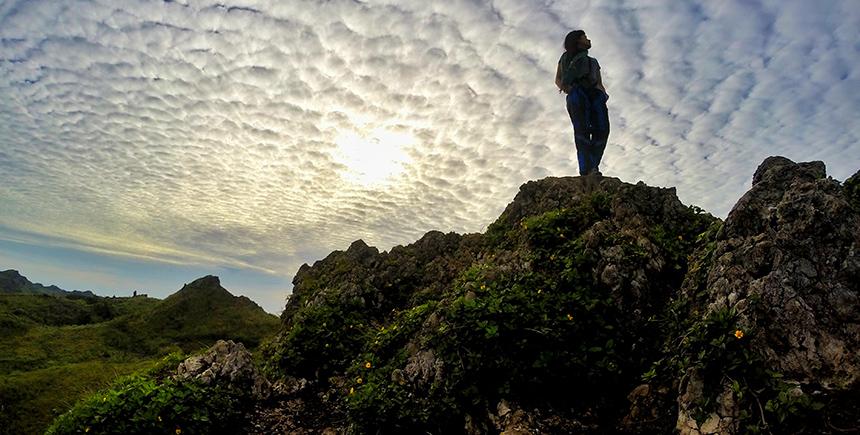 Sunrise on Osmeña Peak