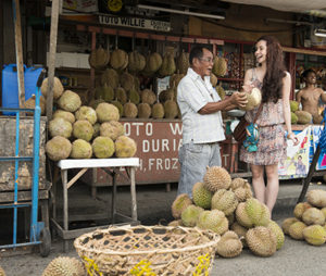 Shop for durians in Davao City
