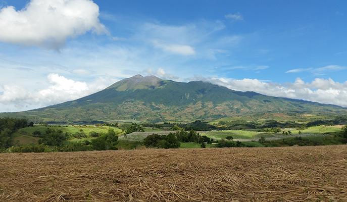 At the foot of Mount Kanlaon (Photo: Rhoda Dejito)