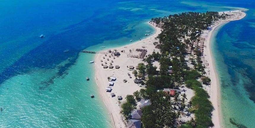 Lakawon Island from an aerial perspective (Photo: Lakawon Island Resort)
